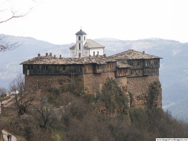 Das Kloster von Glozhen