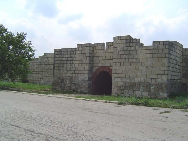 """Archäologisches Schutzgebiet """"Pliska"""